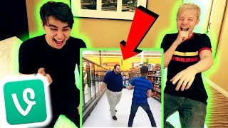 Video REACTING TO OUR SAM AND COLBY VINE COMPILATION! MP3, 3GP, MP4, WEBM, AVI, FLV Desember 2018