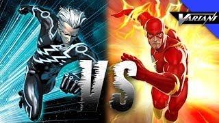 The Flash VS Quicksilver: Epic Battle!