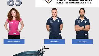 #vaporetti2018 Equipaggio N°83 Cimarelli Termoedilizia