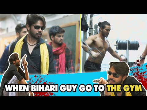 When Bihari Guy Go To The Gym || Bhaiya Ji || Dj NADDY