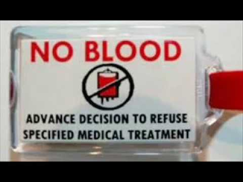 How to stump a Jehovah Witness on a blood transfusion.