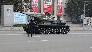 Парад Победы 2019 репетиция Новосибирск