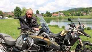 6. Test ride in Slovenia: BMW F 800 GS Adventure in R 1200 GS Adventure 2014