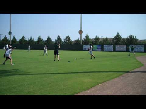 Summer Baseball Camp Relay Drill