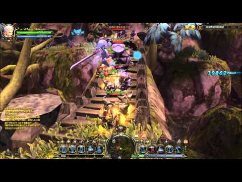 Dragon Nest: Level 60 Moonlord/Warlord Solo Gameplay