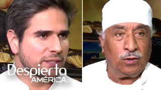 Los actores, que interpretarán a padre e hijo en la telenovela 'Mi marido tiene familia', hablaron de cómo sus personajes intentarán recuperar 34 años separados, en la exitosa producción que pronto llegará a Univision.SUSCRÍBETEhttp://bit.ly/20L91KL Síguenos enTwitterhttps://twitter.com/DespiertaAmericFacebookhttp://facebook.com/despiertamericaVisita el sitio oficialhttp://www.univision.com/shows/despierta-america/inicio En Despierta América encontrarás, tips de belleza, recetas, invitados famosos, entrevistas exclusivas , noticias, rutinas para ponerte en forma y  mucha diversión. Karla Martínez, Alan Tacher, Satcha Pretto, Johnny Lozada, Ana Patricia y Francisca te esperan todos los días de Lunes a Viernes 7AM/6C por Univision