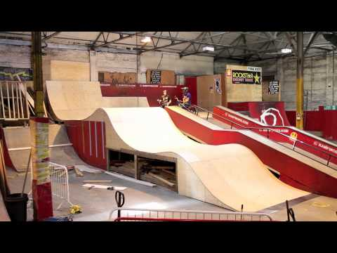 New Wave Ramp at Rampworx Skatepark