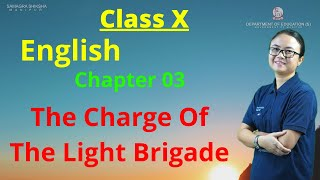 Class X English Literature (Poetry) Chapter 3: The charge of the light brigade