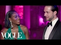 Serena Williams & Alexis Ohanian on Learning Their Baby's Gender | Met Gala 2017