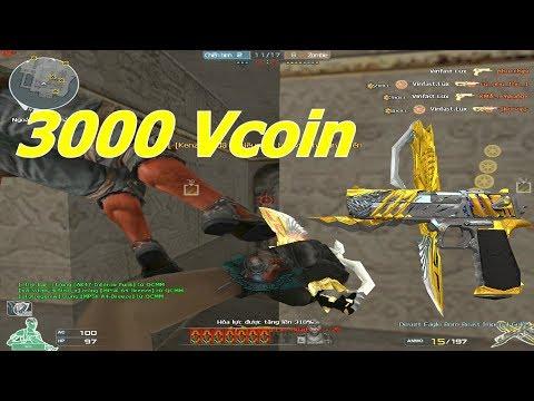 Khẩu Lục Đắt Nhất CF : DE Hoàng Đế Imperial Gold 3000 Vcoin - Tiền Zombie v4 - Thời lượng: 10:01.