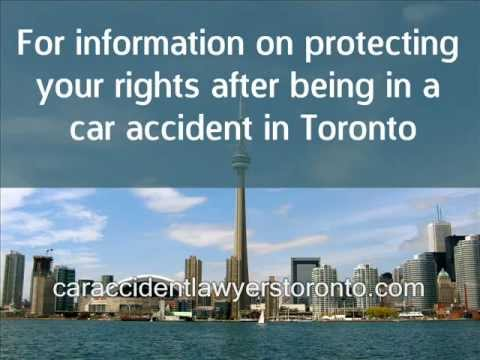 Car Accident Lawyers Toronto –  Protecting Your Interests