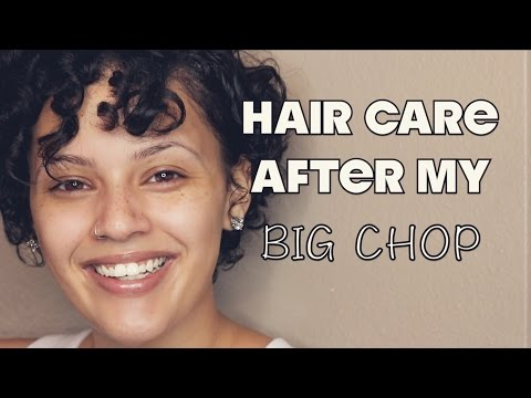 Hair Care After My Big Chop | Viva_Glam_Kay