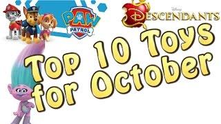 TTPM Top 10 Toys in October 2016