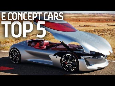 top 5 concept cars elettriche!