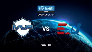 MVP vs eUnited - IEM SYDNEY 2019 - map1 - de_train [Anishared & Eiritel]