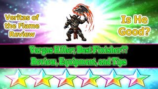 Is Flame Veritas a troll?? How does his finisher skill compared to Luneth and Vargas? Find out more about him on this video. Thanks for watching, please hit the like button and subscribe to my channel for more ff be guides.
