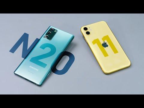 So sánh Samsung Galaxy Note 20 và iPhone 11