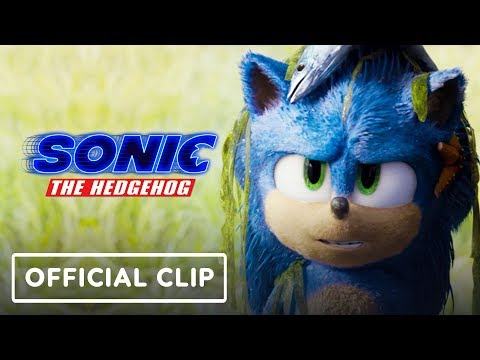 Sonic the Hedgehog - Official Movie Clip 2 (James Marsden, Ben Schwartz)