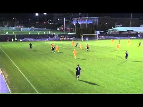 Men's Soccer Highlights vs. Marquette