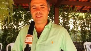 Miguel da Fonseca, campeão europeu, participa de prova de Equitação de Trabalho no Brasil