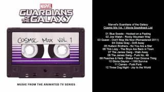 Guardians of the Galaxy Cosmic Mix Vol. 1 Soundtrack Tracklist (Marvel)