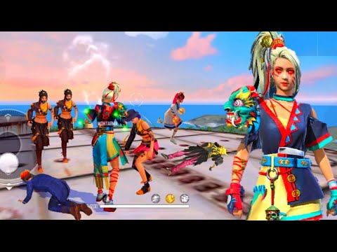 🔥FEMALE DIAMOND ROYAL BUNDLE FACTORY ROOF GAMEPLAY/FACTORY FIST FIGHT SamsungA3,A5,A6,A7,J5,J7,S5,S