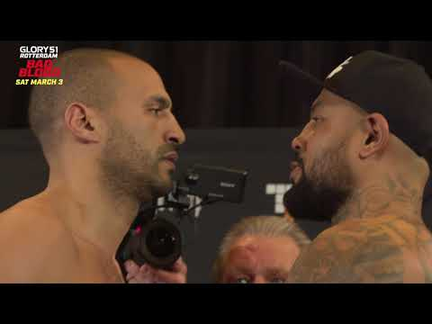 Badr Hari / Hesdy Gerges: Staredown and Weigh In