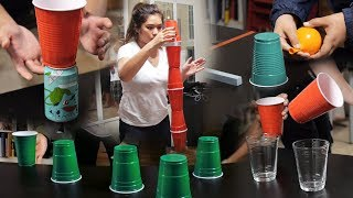 Video 8 Fun and Cheap Party Games with Cups (Minute to Win It Game Ideas) MP3, 3GP, MP4, WEBM, AVI, FLV Februari 2019