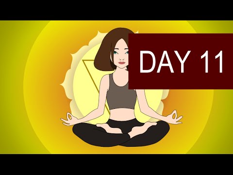 Solar Plexus Chakra Meditation – Healing of Will Power and Confidence – Day 11