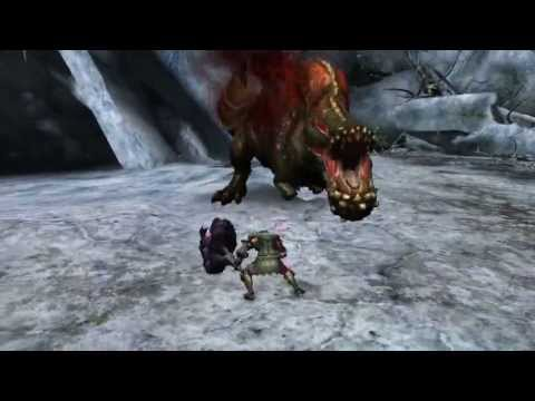 Monster Hunter Tri - Deviljho Solo [Hammer]