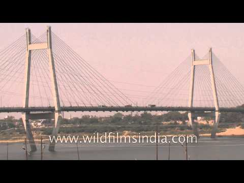 Naini Bridge: One of the largest cable-stayed bridges in India