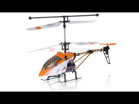 Смотреть видео вертолет с гироскопом D-815 Blue Scorpion (GYRO)