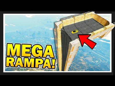 ¡MEGA RAMPA VERTICAL! 😱 CARRERA EXTREMA con los COMPAS  en GTA 5 Online #3