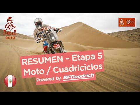 Dakar - Etapa 5 - resumen motos/quads