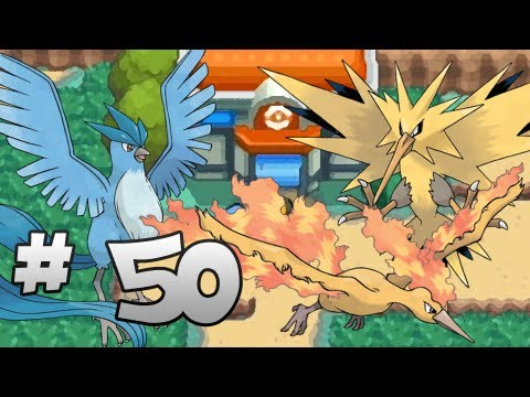 Let's Play Pokemon: HeartGold - Part 50 - Articuno, Zapdos, Moltres