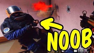 A Noob's Road to Glory - Rainbow Six Siege Funny Moments & Epic Stuff