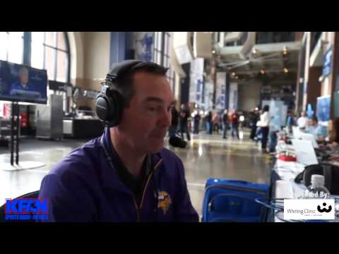 VIDEO: Mike Zimmer Joins Paul Allen at the NFL Scouting Combine