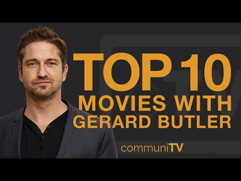 Top 10 Gerard Butler Movies