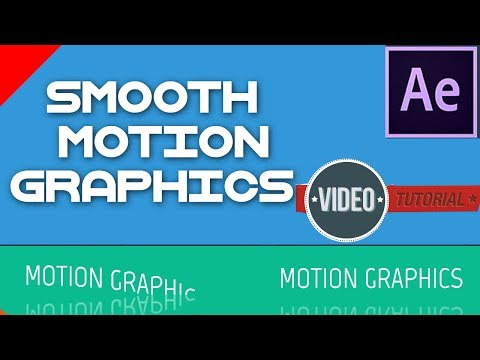 After Effects Tutorial - Smooth Text Motion Graphics Tutorial -  2017