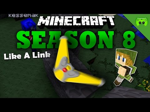 LIKE A LINK «» Minecraft Season 8 # 7 | HD