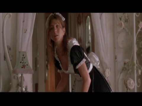 Jennifer Anniston in Maid outfit