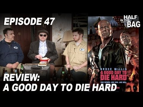 bag - Mike and Jay discuss Bruce Willis' latest paycheck. Meanwhile, Mr. Plinkett puts his foot down about the progress of his VCR repair.