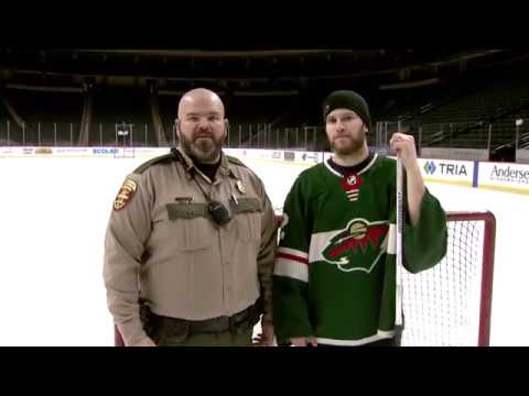 DNR and Minnesota Wild ice safety