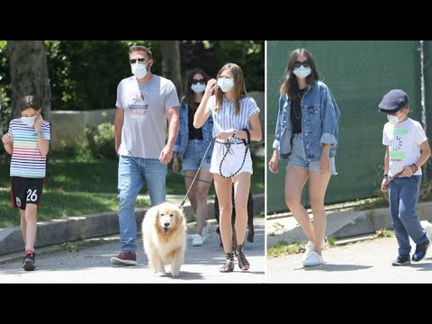 Ben Affleck Introduces Girlfriend Ana De Armas To His Kids For The First Time!
