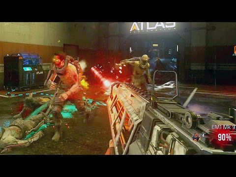 minutes - 10 minutes of zombies gameplay from Advanced Warfare... Thumbs up if you guys enjoyed! ○ How to get the Exo Suit in zombies: http://youtu.be/E-FFwo47Ld4 ○ Pack-a-Punch locations in Exo...