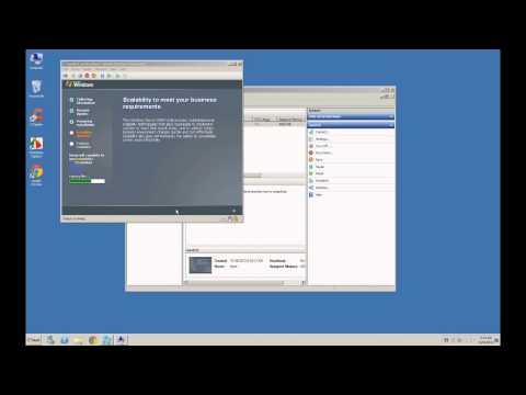 Installing Server 2003 in Hyper V