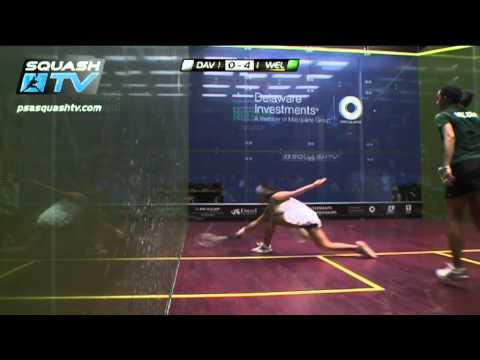 Squash : Nicol David v Raneem El Weleily – Delaware Investments US Open 2012 Women's Final