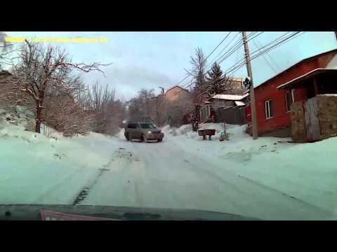 Russian winter drifting