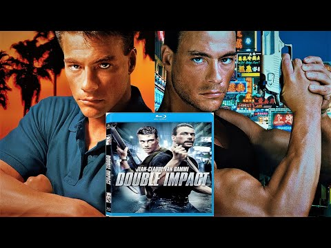 Jean-Claude Van Damme´s 1991 Double Impact movie on Blu-ray disc (unboxing)