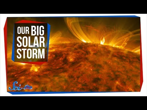 The Strongest Solar Flare in Over a Decade_Best sun videos ever